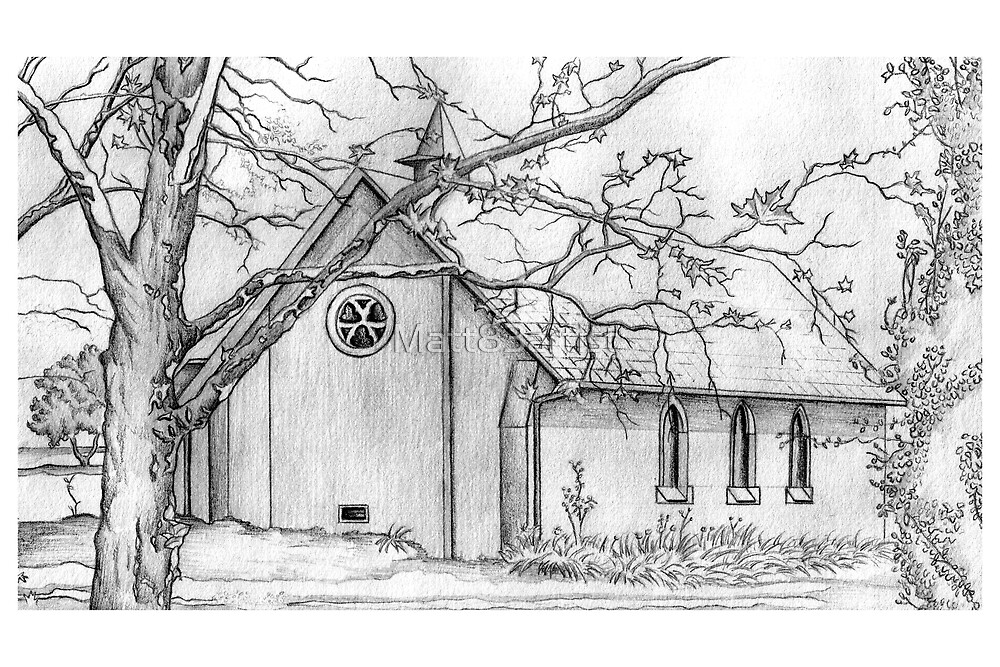 All Saints School Chapel by Matt83artist