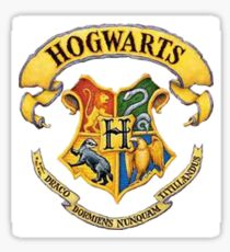 Harry Potter Hogwarts Logo Sticker