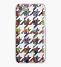 Which Came First, Galaga or Houndstooth? iPhone Case/Skin