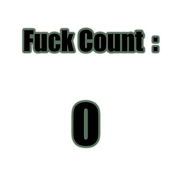 Fuck Count  by djjaap