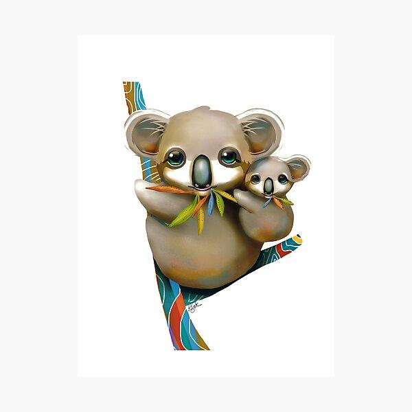 Koalas Lámina fotográfica