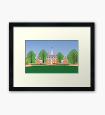 Williamsburg, Va - Governor's Palace Framed Print