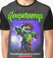 Goosebumps - The Scarecrow walks at Midnight Graphic T-Shirt