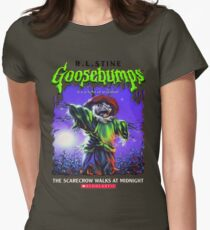 Goosebumps - The Scarecrow walks at Midnight Womens Fitted T-Shirt