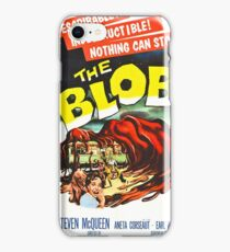 The Blob - Vintage Sci-Fi Horror Movie Poster iPhone Case/Skin