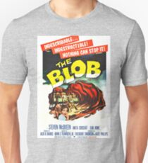 The Blob - Vintage Sci-Fi Horror Movie Poster T-Shirt