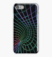 Abstrait néon iPhone Case/Skin