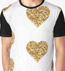 Hearth Glitter Graphic T-Shirt