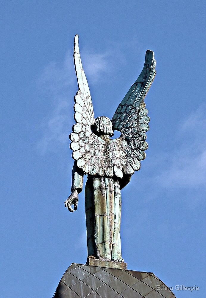 Angel on High by Ethna Gillespie