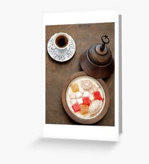 Turkish Delights Greeting Card
