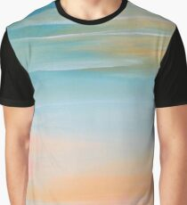 Fresh Colors Painterly Abstract Graphic T-Shirt
