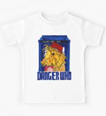 Danger Who, the Eleventh Guinea Pig Doctor Kids Tee