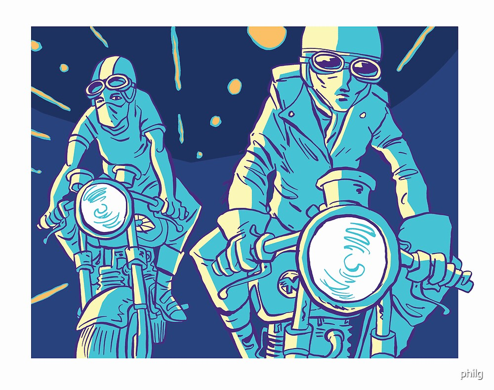 Cafe Racers by philg