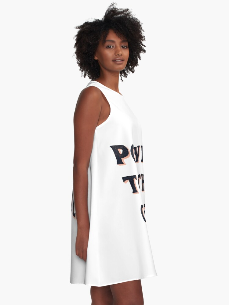 Alternate view of Power To The Girls A-Line Dress