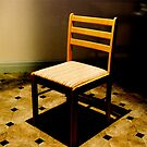 Checkered chair by bouche
