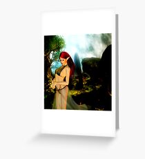 Elven Thoughts Greeting Card