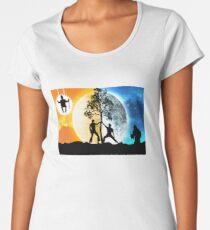 Dayman vs Nightman Women's Premium T-Shirt
