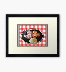 Aussie Breakfast Framed Print
