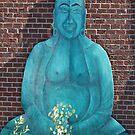 Bouquet Buddha by Ethna Gillespie