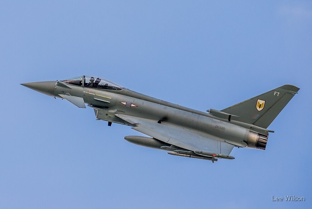 RAF Typhoon ZK330-FT by Lee Wilson