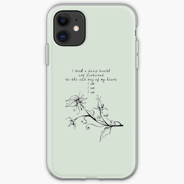 Listen Hard To Your Soul iPhone 11 case