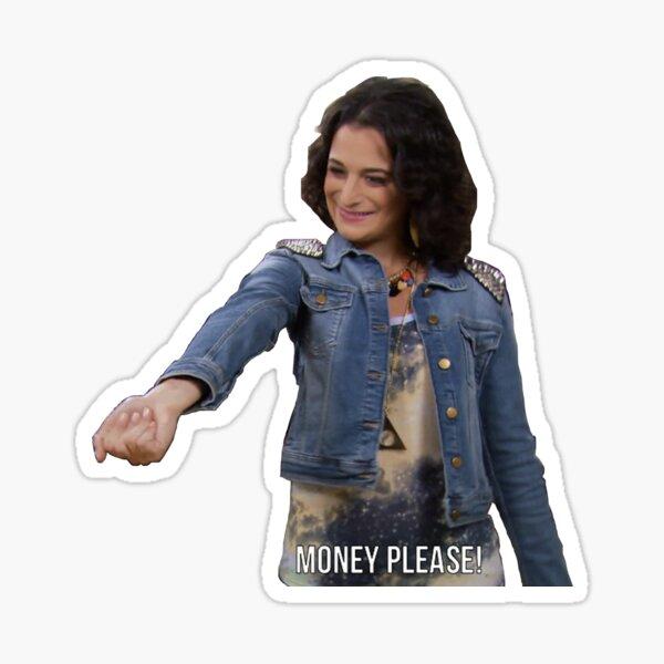 Mona Lisa- Money Please! Sticker