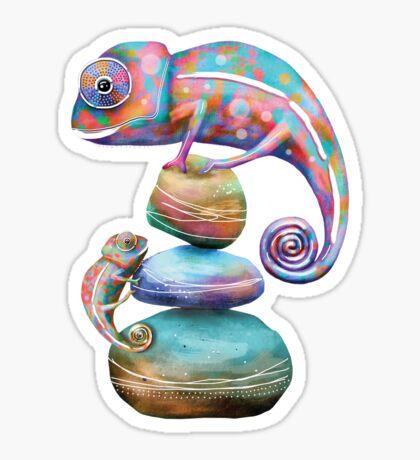 Chameleons Sticker