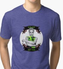 Alien Baby Baby Mama Gillian Anderson X Files Tri-blend T-Shirt