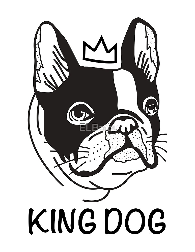 King Dog By Elbarbu
