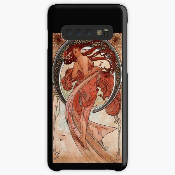 'Dance' by Alphonse Mucha (Reproduction) Samsung Galaxy Snap Case