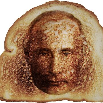 Toast Miracles with Vladimir Putin -on blue- by DeplorableLib