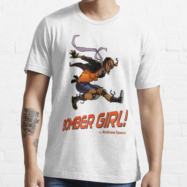 BOMBER GIRL ACTION Essential T-Shirt