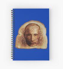 Toast Wunder mit Vladimir Putin -on blue- Spiralblock