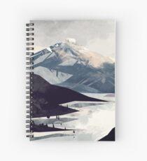 Calming Mountain Spiral Notebook