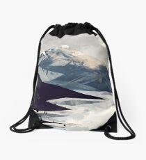 Calming Mountain Drawstring Bag