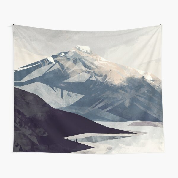 Calming Mountain Tapestry