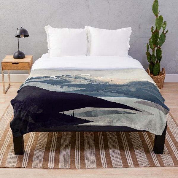Calming Mountain Throw Blanket