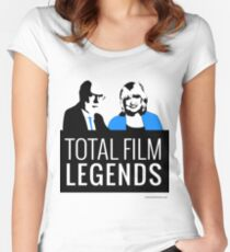 Margaret and David - Total Film Legends Women's Fitted Scoop T-Shirt