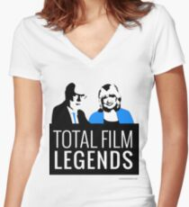Margaret and David - Total Film Legends Women's Fitted V-Neck T-Shirt