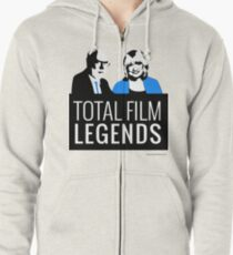 Margaret and David - Total Film Legends Zipped Hoodie