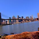 East River Perspective by Peter Bellamy