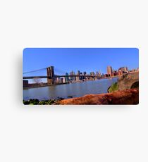 East River Perspective Canvas Print