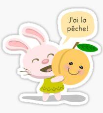 I Feel Good Rabbit Sticker