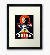 Child's Play 2 - Chucky is Back Framed Print