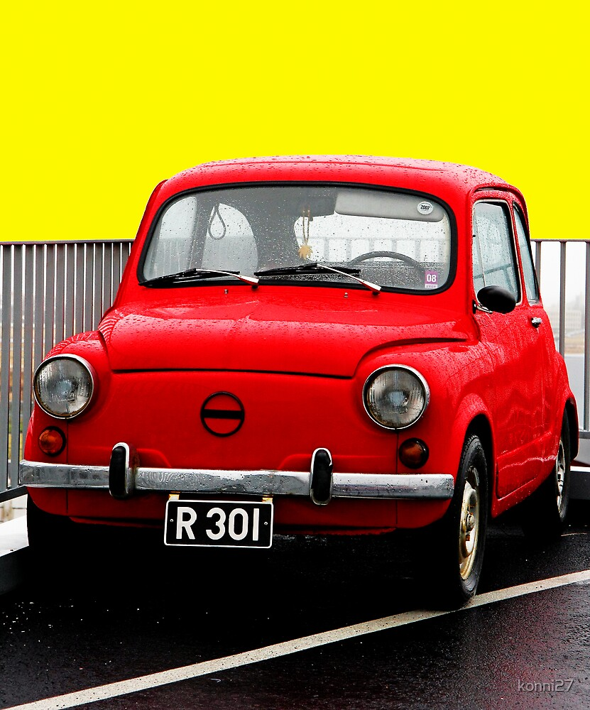 Little red car! by konni27