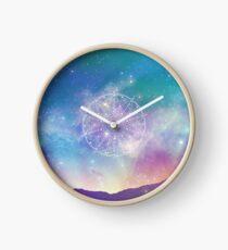 Sacred Geometry (Interconnected) Clock