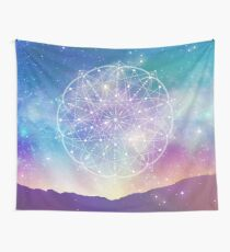 Sacred Geometry (Interconnected) Wall Tapestry