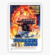 Equalizer 2000 Sticker