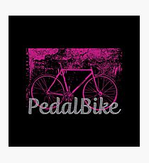 Pedal Bicycle Photographic Print