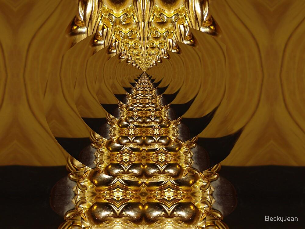 Golden Tunnel by BeckyJean